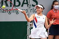 4th July 2021; Roland Garros, Paris France; French Open tennis championships day 6;  Nao Hibino ( Japan )