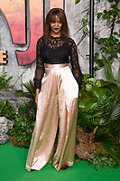 "Oti Mabuse<br /> arriving for the ""Jumanji: Welcome to the Jungle"" premiere at the Vue West End, Leicester Square, London<br /> <br /> <br /> ©Ash Knotek  D3358  07/12/2017"