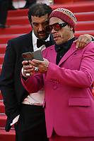 CANNES, FRANCE. July 10, 2021: Ramzy Bedia & Joeystarr at the premiere of Peaceful (De Son Vivant) at the 74th Festival de Cannes.<br /> Picture: Paul Smith / Featureflash