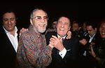 """NINO MANFREDI ED ALBERTO SORDI <br /> PREMIERE """"C'ERAVAMO TANTO AMATI"""" VERSIONE RESTAURATA - CINEMA EMPIRE ROMA 2001"""