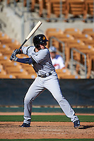 Mesa Solar Sox shortstop Daniel Robertson (26) at bat during an Arizona Fall League game against the Glendale Desert Dogs on October 13, 2015 at Camelback Ranch in Glendale, Arizona.  Glendale defeated Mesa 8-7.  (Mike Janes/Four Seam Images)