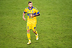 Nicolas Lopez of Tigres UANL (MEX) in action against CD Olimpia (HON) during their CONCACAF Champions League Semi Finals match at the Orlando's Exploria Stadium on 19 December 2020, in Florida, USA. Photo by Victor Fraile / Power Sport Images