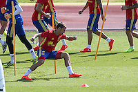 Spanish  Cesar Azpilicueta during the second training of the concentration of Spanish football team at Ciudad del Futbol de Las Rozas before the qualifying for the Russia world cup in 2017 August 30, 2016. (ALTERPHOTOS/Rodrigo Jimenez) /NORTEPHOTO