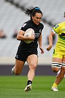 22nd May 2021; Eden Park, Auckland New Zealand;  Portia Woodman. Black Ferns Womens Sevens versus Australia Women, Trans-Tasman Sevens at Eden Park, Auckland.
