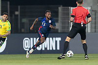WIENER NEUSTADT, AUSTRIA - MARCH 25: Kellyn Acosta #10 of the United States during a game between Jamaica and USMNT at Stadion Wiener Neustadt on March 25, 2021 in Wiener Neustadt, Austria.