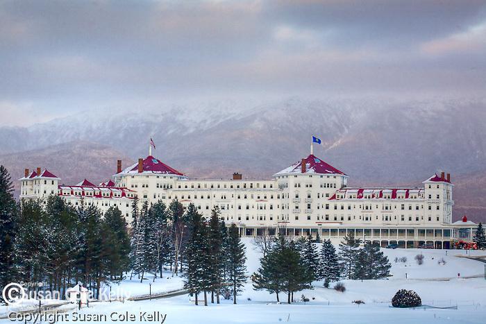 Mount Washington Hotel at Bretton Woods, White Mountain region, NH