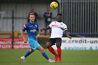 Christian Frimpong of Lewes during Wingate & Finchley vs Lewes, Pitching In Isthmian League Premier Division Football at the Maurice Rebak Stadium on 3rd October 2020