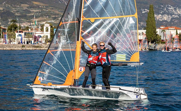 29er Euro Champions Jens Christian and Jens Philip Dehn-Toftehoj of Denmark