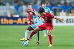 Shanghai FC Forward Lyu Wenjun (R) fights for the ball with Jiangsu FC Midfielder Ramires Santos (L) during the AFC Champions League 2017 Round of 16 match between Jiangsu FC (CHN) vs Shanghai SIPG FC (CHN) at the Nanjing Olympic Stadium on 31 May 2017 in Nanjing, China. Photo by Marcio Rodrigo Machado / Power Sport Images