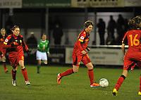 UEFA Women's Euro Qualifying group stage (Group 3) -  KFC Dessel - Armand Melis Stadion : BELGIUM -Northern Ireland ( Belgie - Noord Ierland ) : Aline Zeler..foto DAVID CATRY / Vrouwenteam.be / Loft6.be