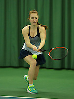 Rotterdam, The Netherlands, March 18, 2016,  TV Victoria, NOJK 14/18 years, Chanel Janssen (NED)<br /> Photo: Tennisimages/Henk Koster