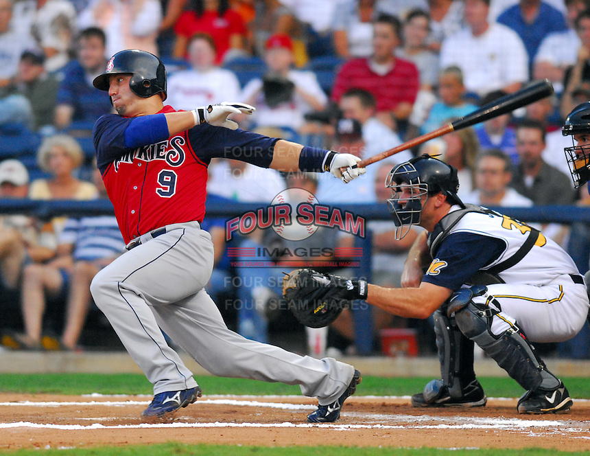Jake Fox of the Tennessee Smokies at the 2007 Southern League All-Star Game July 9, 2007, at Trustmark Park, sponsored by the Mississippi Braves, in Pearl, Miss. Photo by:  Tom Priddy/Four Seam Images