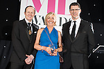 © Joel Goodman - 07973 332324 . 02/03/2017 . Manchester , UK . Team of the Year – Litigation - Hill Dickinson  . The Manchester Legal Awards at the Midland Hotel . Photo credit : Joel Goodman
