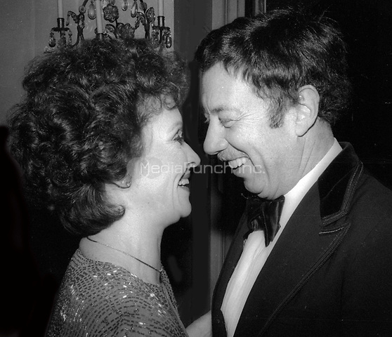 Chita Rivera and Cy Coleman 1978<br /> Photo By Adam Scull/PHOTOlink/MediaPunch