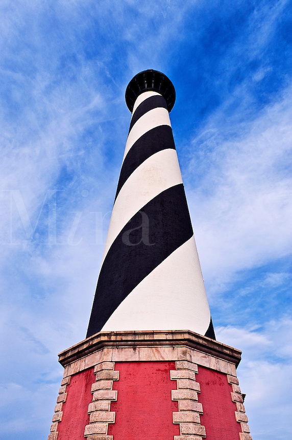 Cape Hatteras lighthouse, Outer Banks, North Carolina, USA