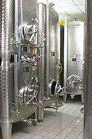 stainless steel tanks dom paul zinck eguisheim alsace france