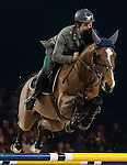 Emanuele Gaudiano of Italy riding Caspar 232 in action during the Longines Grand Prix as part of the Longines Hong Kong Masters on 15 February 2015, at the Asia World Expo, outskirts Hong Kong, China. Photo by Victor Fraile / Power Sport Images