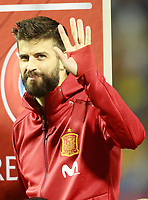 Spain's Gerard Pique during FIFA World Cup 2018 Qualifying Round match. October 6,2017.(ALTERPHOTOS/Acero) /NortePhoto.com /NortePhoto.com