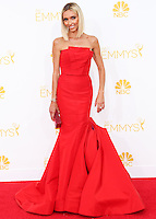 LOS ANGELES, CA, USA - AUGUST 25: Giuliana Rancic arrives at the 66th Annual Primetime Emmy Awards held at Nokia Theatre L.A. Live on August 25, 2014 in Los Angeles, California, United States. (Photo by Celebrity Monitor)
