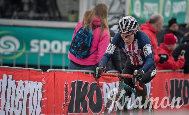 Katie Kompton (USA)<br /> <br /> Women's Race<br /> UCI 2017 Cyclocross World Championships<br /> <br /> january 2017, Bieles/Luxemburg