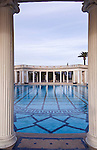 USA, CA, San Simeon, Neptune Pool at Hearst Castle