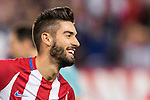 Yannick Ferreira Carrasco of Atletico de Madrid celebrates during their La Liga match between Atletico de Madrid and Granada CF at the Vicente Calderon Stadium on 15 October 2016 in Madrid, Spain. Photo by Diego Gonzalez Souto / Power Sport Images
