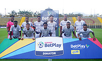 BOGOTA - COLOMBIA, 27-09-2020: Tigres F.C. y Atletico F. C., durante partido por la fecha 9 del Torneo BetPlay DIMAYOR I 2020 jugado en el estadio Metropolitano de Techo  en la ciudad de Bogota. / Tigres F.C. y Atletico F. C., during a match for the 9th date of the BetPlay DIMAYOR I 2020 tournament played at the Metropolitano de Techo de stadium in Bogota city. / Photo: VizzorImage / Daniel Garzon / Cont.