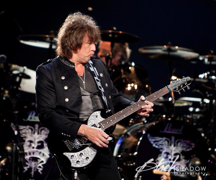 Bon Jovi performing on their The Circle tour at Rod Laver Arena, Melbourne, Australia, 10 December 2010