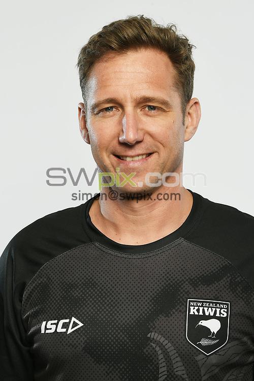 Greg MacLeod, Headshots of the New Zealand Kiwis rugby league team, Auckland, New Zealand. 7 October 2018.<br /> Copyright photo: Andrew Cornaga / www.photosport.nz - ©PhotosportNZ/SWpix.com