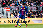 Gerard Pique Bernabeu of FC Barcelona in action during the La Liga 2017-18 match between FC Barcelona and RC Celta de Vigo at Camp Nou Stadium on 02 December 2017 in Barcelona, Spain. Photo by Vicens Gimenez / Power Sport Images
