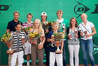 14-08-10, Hillegom, Tennis, NJK, Alle winnaars
