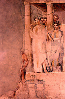 Roman Art:  Fresco--Ifigenia in Tauride.  National Museum, Naples.
