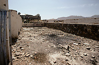 In autumn 1999, all King carâs in the UNESCO bunker have been destroy or recycled. The civil war in Kabul is over from 1996 and the national museum received the first care. On the top left the destroy Darulaman King Palace.