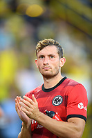 Christopher LENZ (F) gesture, gesture, clapping, clapping, Soccer 1st Bundesliga, 1st matchday, Borussia Dortmund (DO) - Eintracht Frankfurt (F) 5: 2, on 08/14/2021 in Dortmund / Germany. #DFL regulations prohibit any use of photographs as image sequences and / or quasi-video # Â
