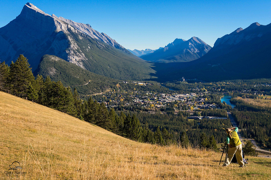 Photographer captures a stunning view of Banff, Alberta, Canada.