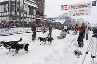 Nicolas Petit Saturday, March 3, 2012  Ceremonial Start of Iditarod 2012 in Anchorage, Alaska.