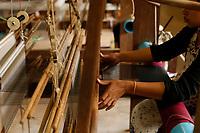 Silk factory , Siem Reap<br /> , Cambodia<br /> <br /> PHOTO :  Agence Quebec Presse<br /> <br /> <br /> <br /> <br /> <br /> PHOTO : Agence Quebec Presse