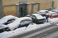 - Milan under the snow....- Milano sotto la neve