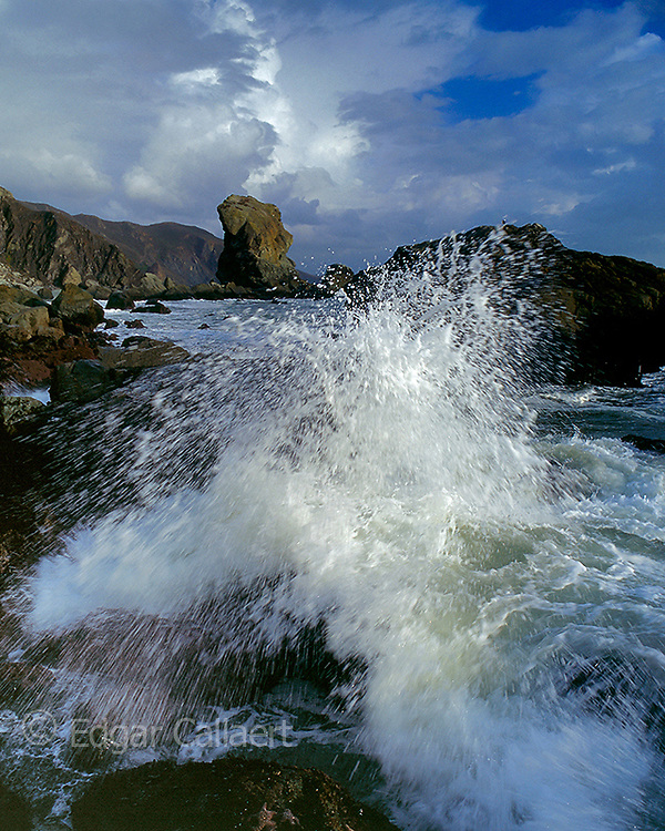 Surf, Muir Beach, Golden Gate National Recreation Area, Marin County, California