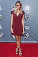 """UNIVERSAL CITY, CA, USA - APRIL 15: Renee Bargh at NBC's """"The Voice"""" Season 6 Top 12 Red Carpet Event held at Universal CityWalk on April 15, 2014 in Universal City, California, United States. (Photo by Xavier Collin/Celebrity Monitor)"""