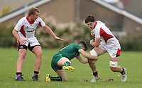 Saturday 8th September 2018 | Ulster U19s vs Connacht U19s<br /> <br /> David McCann during the U19 Inter-Pro between Ulster and Connacht at Bangor Grammar School, Bangor, County Down, Northern Ireland. Photo by John Dickson / DICKSONDIGITAL