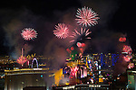 Las Vegas New Years Grucci Fireworks 2015