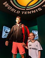 Rotterdam, The Netherlands, 17 Februari, 2018, ABNAMRO World Tennis Tournament, Ahoy, Tennis, Grigor Dimitrov (BUL)<br /> <br /> Photo: www.tennisimages.com