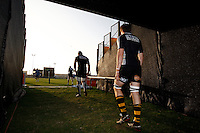 Photo: Richard Lane/Richard Lane Photography. London Wasps in Abu Dhabi for their LV= Cup game against Harlequins on 30st January 2011. 29/01/2011. Wasps players at training.