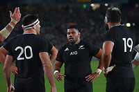 NZ replacement hooker Samisoni Taukei'aho during the Bledisloe Cup rugby match between the New Zealand All Blacks and Australia Wallabies at Eden Park in Auckland, New Zealand on Saturday, 7 August 2021. Photo: Dave Lintott / lintottphoto.co.nz