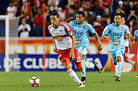 Harrison, NJ - Thursday Sept. 15, 2016: Sean Davis during a CONCACAF Champions League match between the New York Red Bulls and Alianza FC at Red Bull Arena.