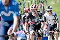 Tejay van Garderen (USA/EF Education - Nippo) up the Passo di San Valentino (cat.1)<br /> <br /> 104th Giro d'Italia 2021 (2.UWT)<br /> Stage 17 from Canazei to Sega di Ala (193km)<br /> <br /> ©kramon