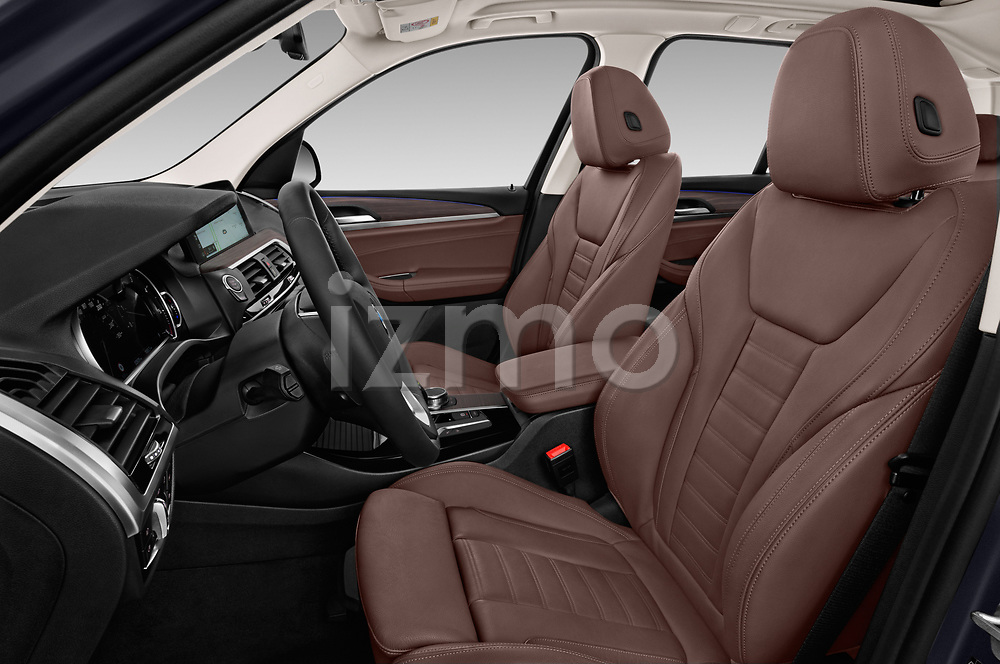 Front seat view of a 2018 BMW X3 xLine 5 Door SUV front seat car photos