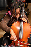 6 year old girl playing the cello