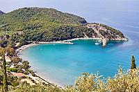 Arilla beach in Perdika, Greece